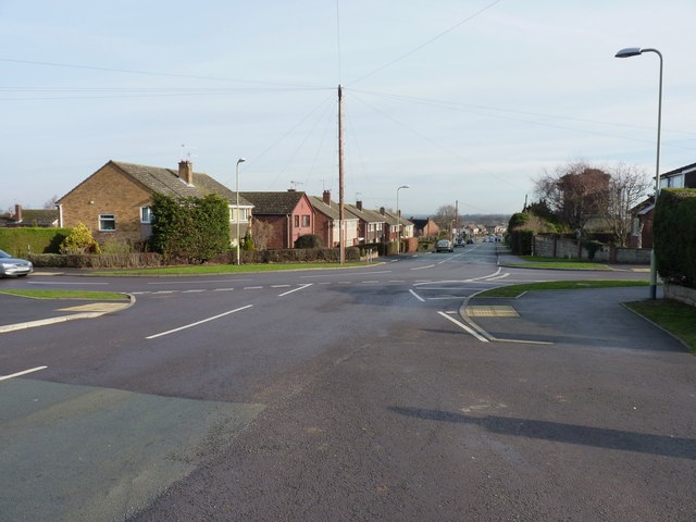 Crossroads in Bayston Hill