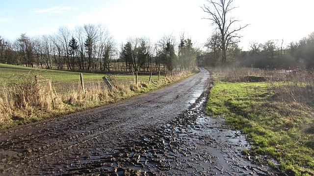 Farm road, Upper Carbarns