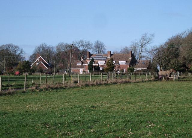 Modern houses in Upper Upham