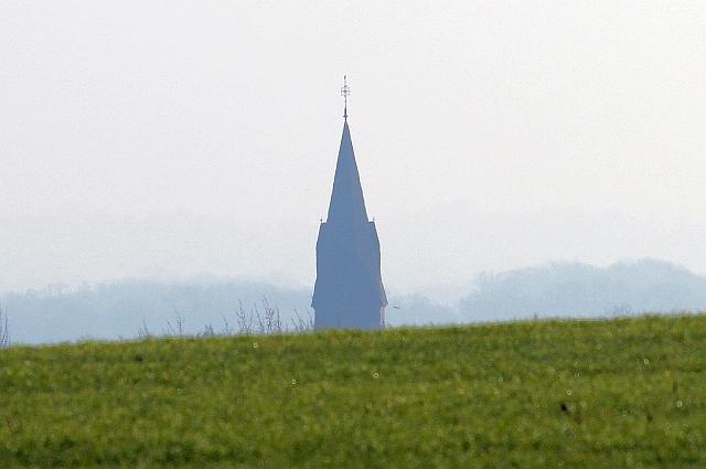 St James' church spire, Welland