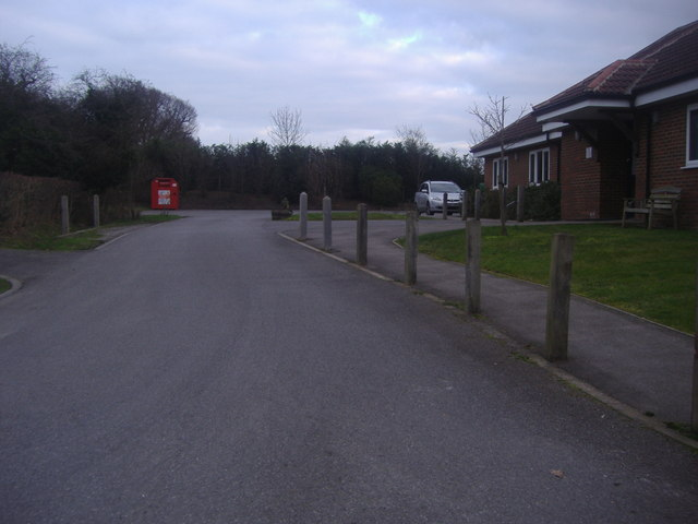 Entrance to Newdigate Surgery