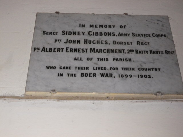 St Peter's at St Mary Bourne- memorial (6)