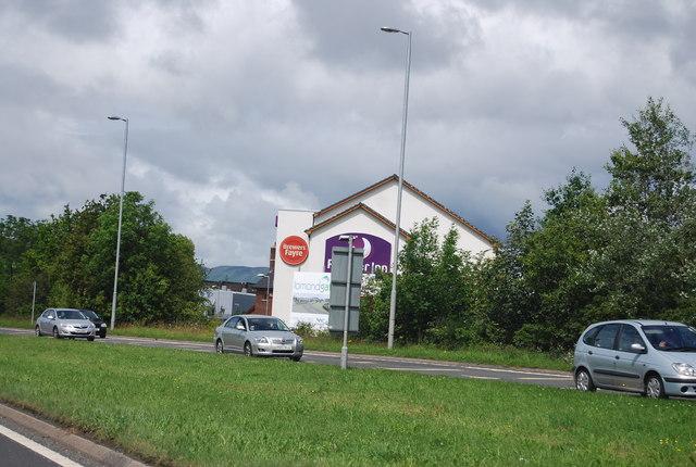 Premier Inn, A82