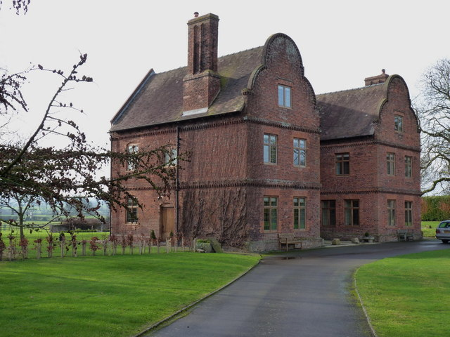 Great Lyth Manor house