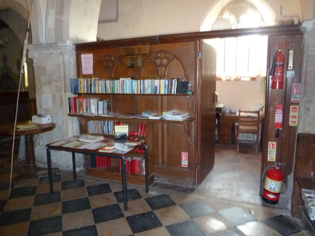 St Peter's at St Mary Bourne- library