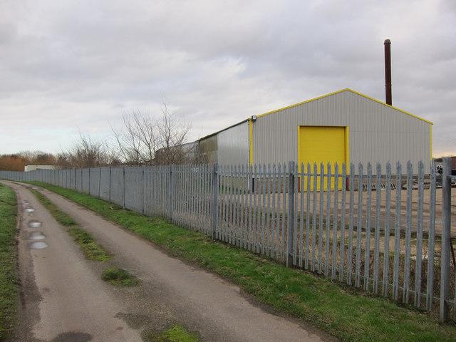 Factory on Thornham Road