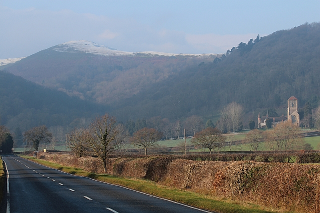 The A4104 to Little Malvern