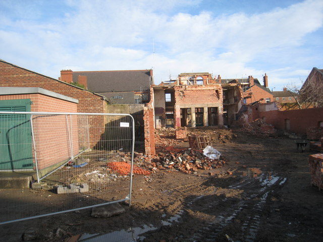 Demolition of the Kensington Picture House, Thorne