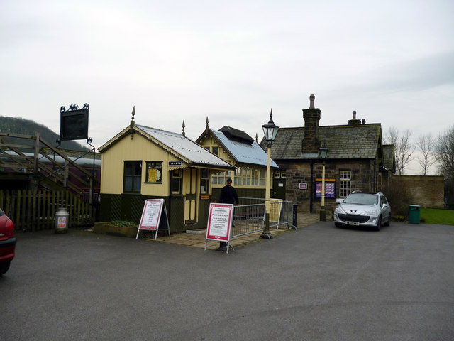 Embsay, Yorkshire:  Station booking office