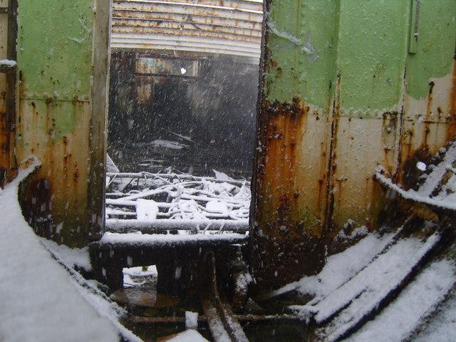 Vadne in snow