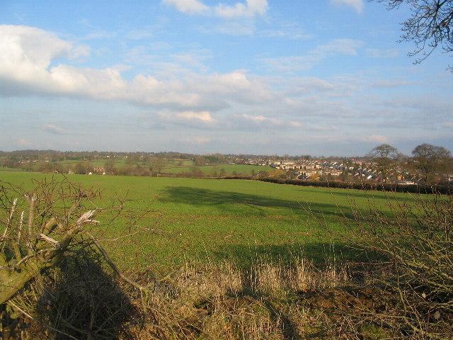 Farmland near Allesley