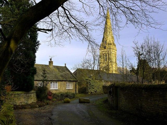 Holy Trinity Church spire, Matfen