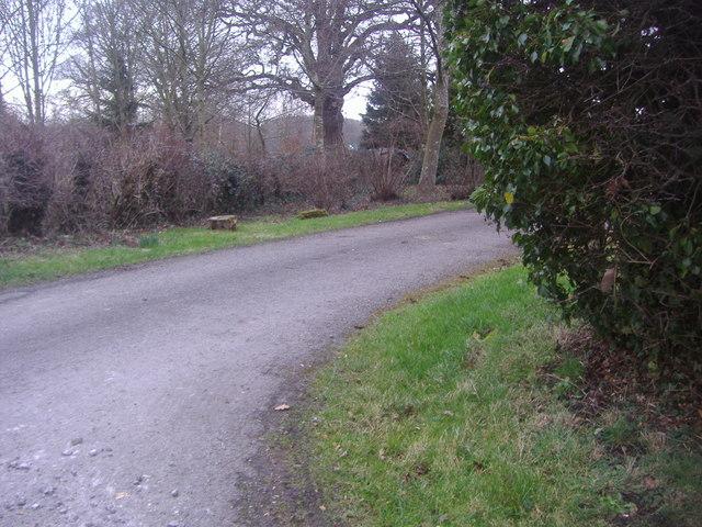 Entrance to Little Abbot's farm