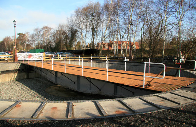 Quorn & Woodhouse Station - turntable