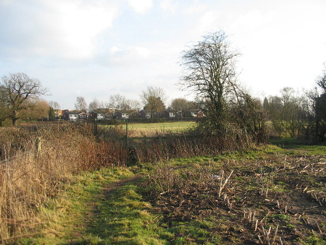Footpath near Windmill Hill