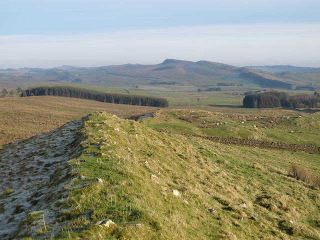 (The course of) Hadrian's Wall west of Milecastle 44 (Allolee)