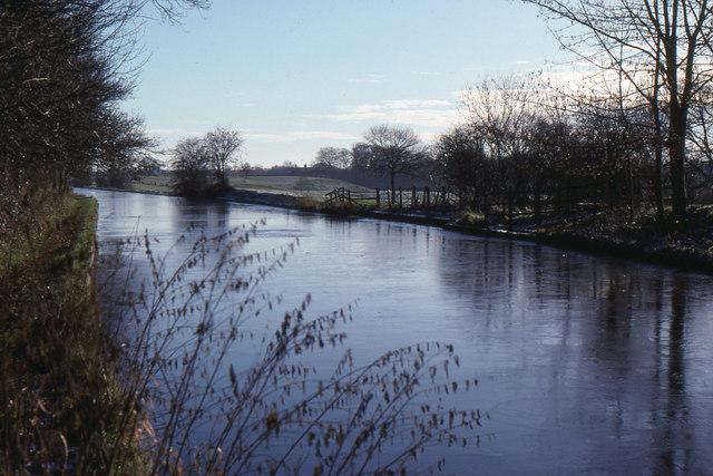 Audlem: Shropshire Union Canal above lock 1