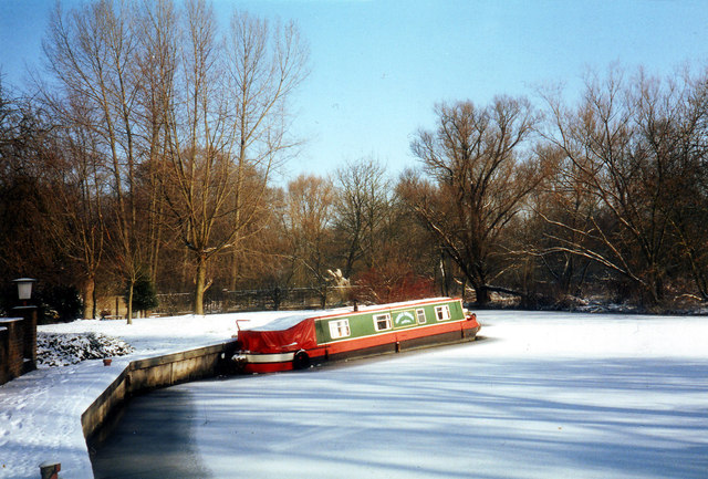 Frozen Mooring at Cleeve Court