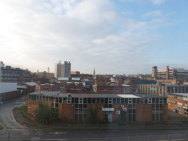 View from Campanile Hotel, Leicester