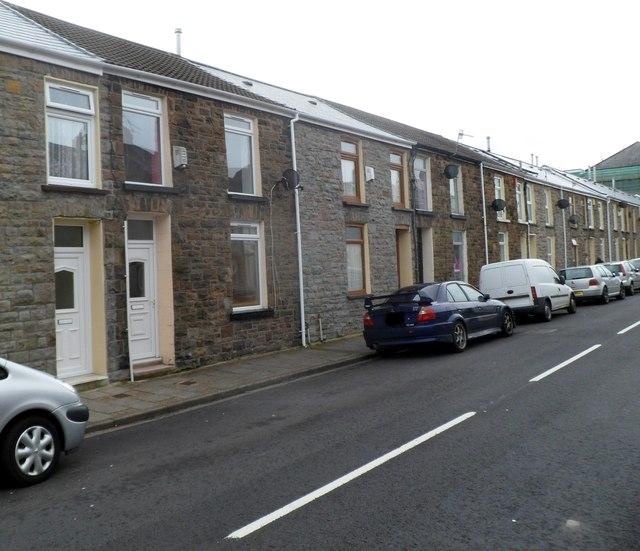 Abertonllwyd Street, Treherbert