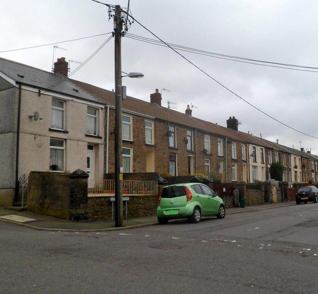 Dumfries Street, Treherbert