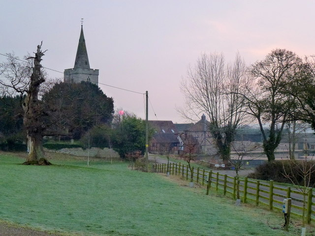 Dawn over St. James's, Staunton