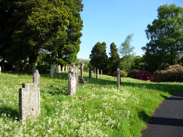 Graveyard, Jesus Church, Troutbeck, Cumbria