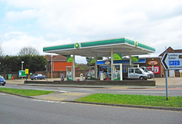 Pantiles Filling Station (BP Filling Station) (1), London Road, Burpham, Guildford