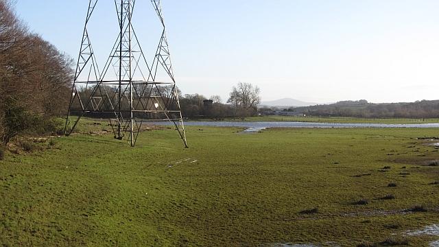 Clyde flood plain