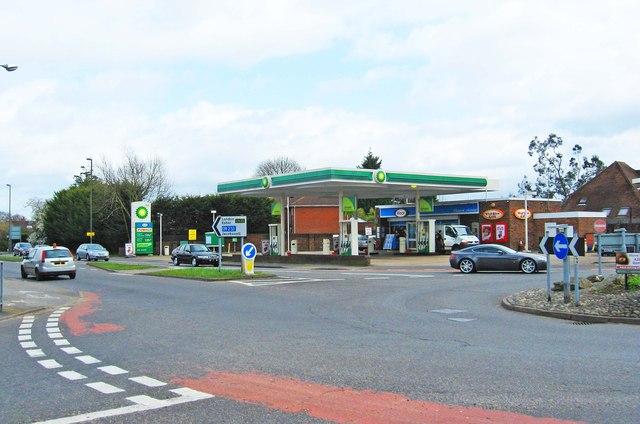 Pantiles Filling Station (BP Filling Station) (2), London Road, Burpham, Guildford