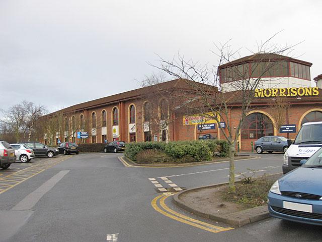 Supermarket car park