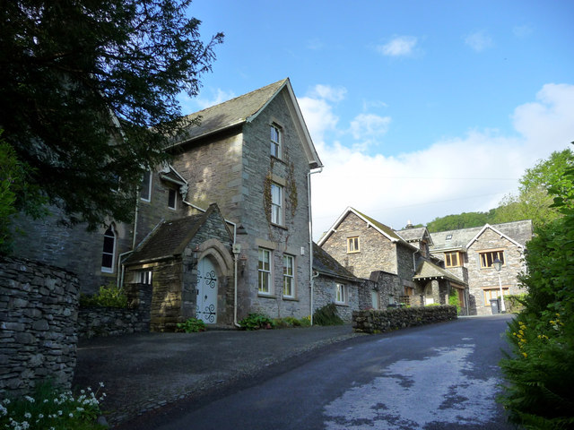 Houses, Troutbeck, Cumbria