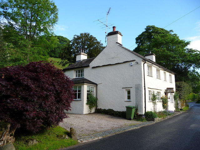 Houses, Troutbeck, Cumbria