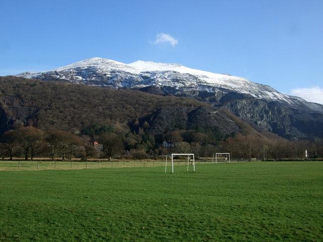 ''See goal, See goal'' at Llanberis