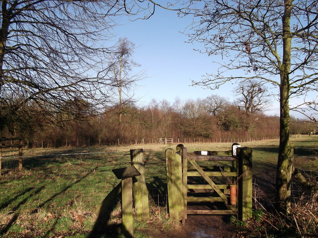 Kissing gate in Manor Park Country Park