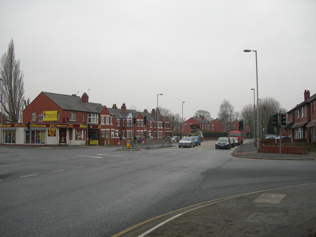 Junction of the A57 and A50