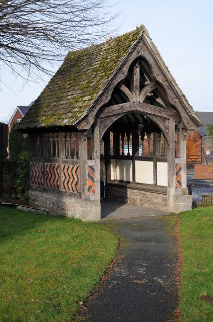 Lychgate, Eardisley church