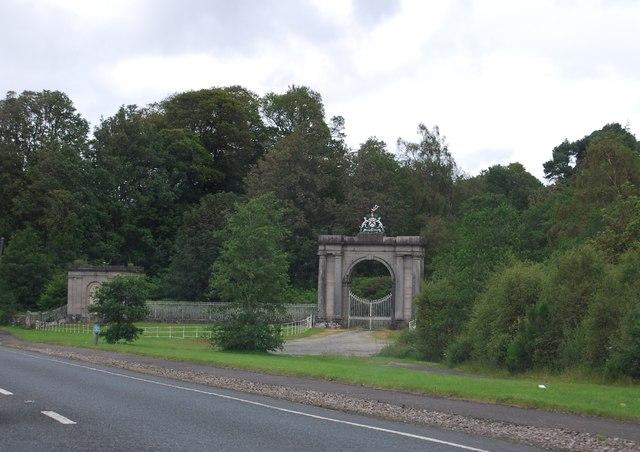 Gateway of Rossdhu House