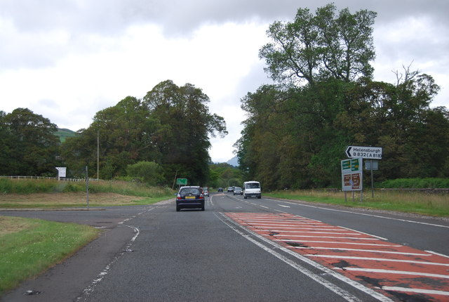 B832 turn off the A82