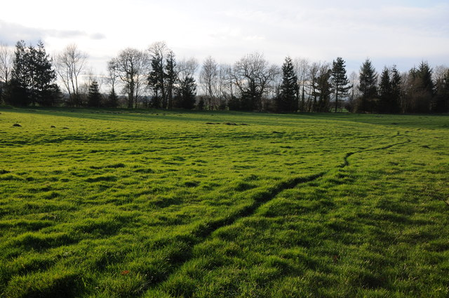 Farmland in the Wye valley