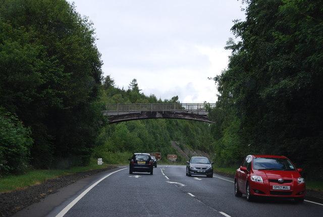 Bridge over the A82
