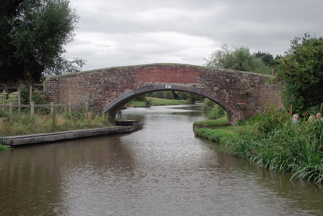 Long Meadow Bridge near Burston, Staffordshire