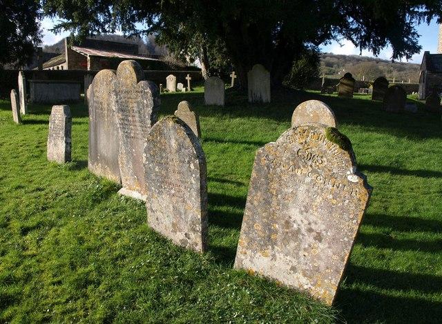Gravestones, Combe Raleigh
