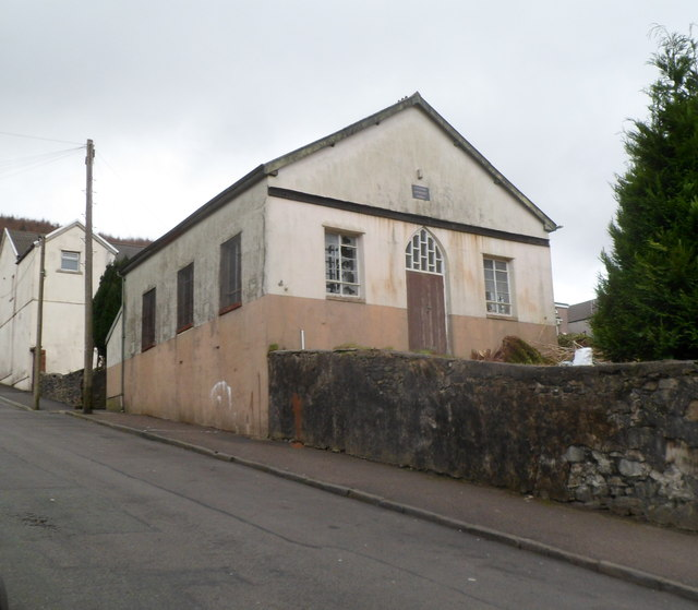 Derelict former Ynyswen Methodist Church