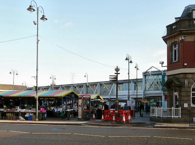 Hyde Market awaiting refurbishment