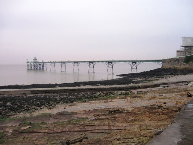 Clevedon Pier in the mist
