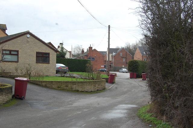 Netherthorpe Lane Looking south