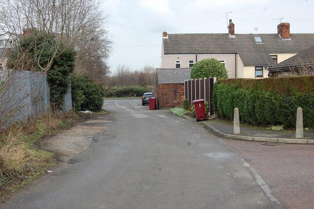 Netherthorpe Lane looking North