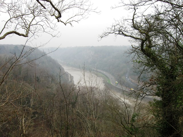 Avon Gorge from Leigh Woods
