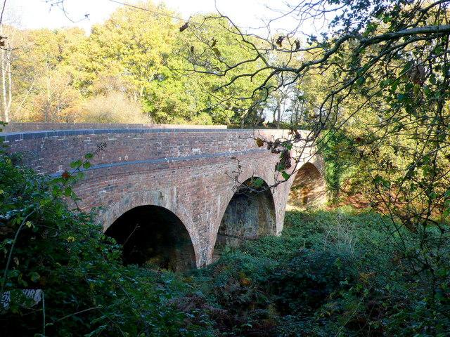 Railway Bridge near Merley